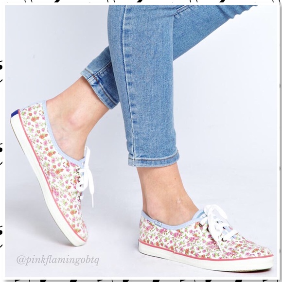 6205a0f8cd Keds Shoes - Keds Champion Originals Dainty Floral Sneakers 7.5